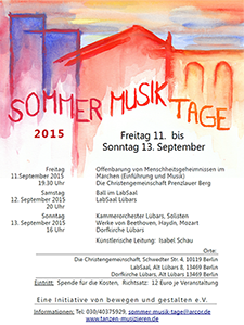 Sommer Musik Tage 2015