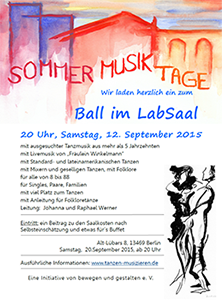 Sommer Musik Tage - Ball im Labsaal